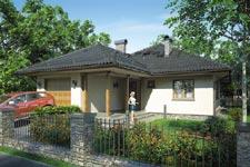 Projekt domu E-GL 442 Tip Top