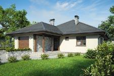 Projekt domu E-GL 452 Faktor Plus