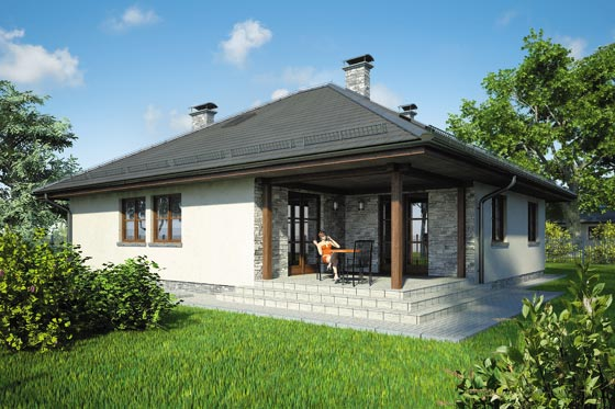 Projekt domu S-GL 452 Faktor Plus