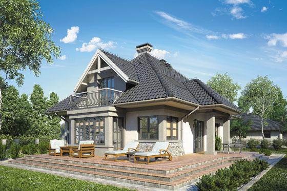 Projekt domu S-GL 462 Bielik
