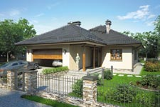 Projekt domu E-GL 465 Dębowiec