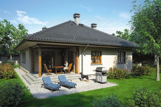 Projekt domu S-GL 465 Dębowiec