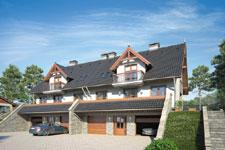 Projekt domu E-GL 474 Marek I Wacek