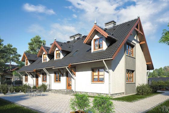 Projekt domu S-GL 474 Marek I Wacek
