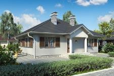 Projekt domu E-GL 486 Colorado