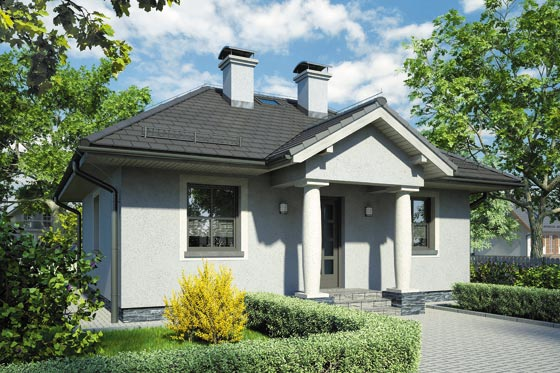 Projekt domu S-GL 489 Hellada