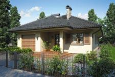 Projekt domu E-GL 498 Sfinks