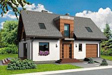 Projekt domu E-GL 499 Fortis