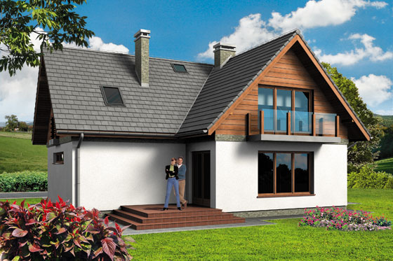 Projekt domu S-GL 499 Fortis