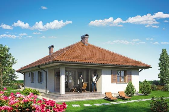 Projekt domu S-GLX 504 Sfinks IV