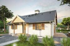 Projekt domu E-GL 507 Wilga II