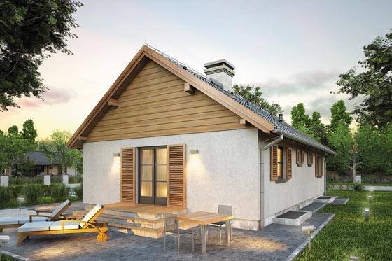 Projekt domu S-GL 507 Wilga II
