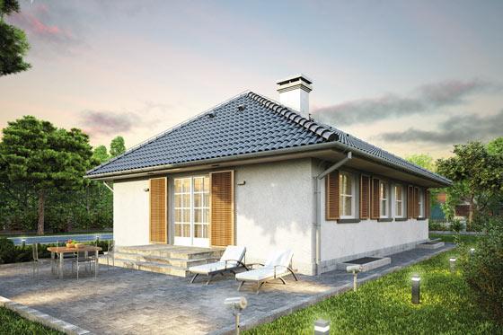 Projekt domu S-GL 509 Krasnal II