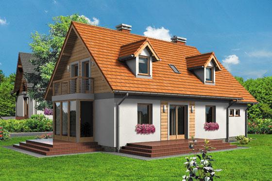 Projekt domu S-GL 512 Delfin