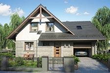 Projekt domu E-GL 528 Onyks