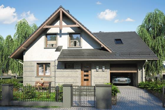 Projekt domu S-GL 528 Onyks