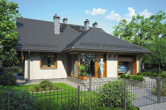 Projekt domu S-GL 529 Nefryt