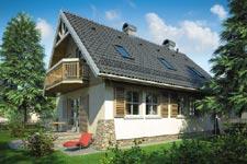 Projekt domu E-GLZ 53 Maja II