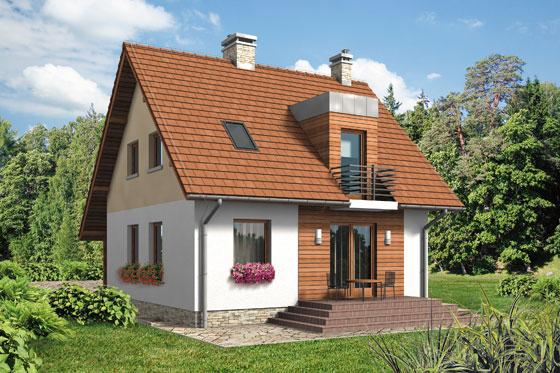 Projekt domu S-GL 530 Karolek