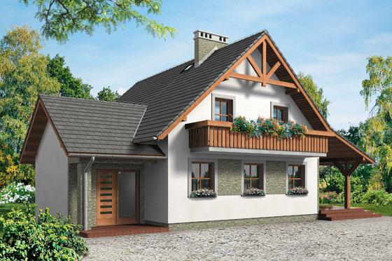 Projekt domu S-GL 534 Kruczek