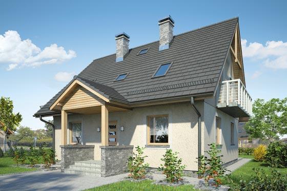 Projekt domu S-GL 540 Słodka Zosia Bis