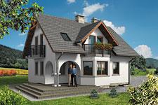 Projekt domu E-GL 541 Perła Bis