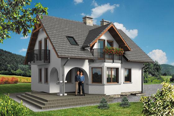 Projekt domu S-GL 541 Perła Bis