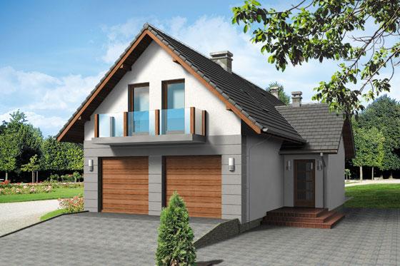 Projekt domu S-GL 545 Sigma Bis