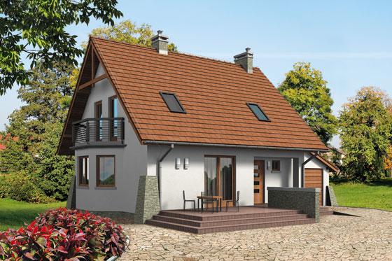 Projekt domu S-GL 549 Dobry Duch Bis
