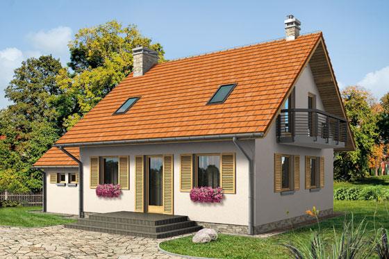 Projekt domu S-GL 551 Walczyk Bis