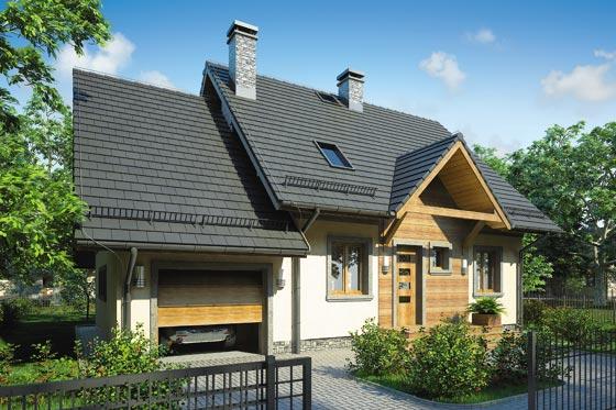 Projekt domu S-GL 552 Ewa Bis