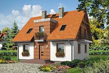 Projekt domu E-GL 554 Zoja II
