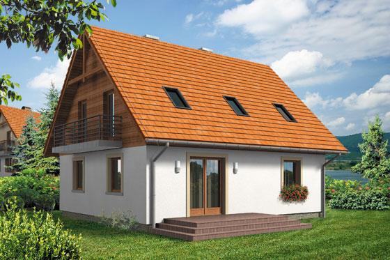 Projekt domu S-GL 554 Zoja II