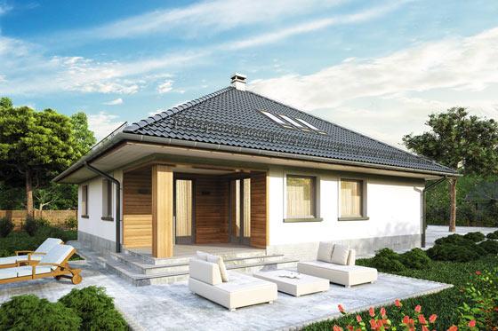 Projekt domu S-GL 555 Modelowy