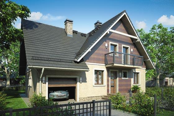 Projekt domu S-GL 571 Mały Michał Bis