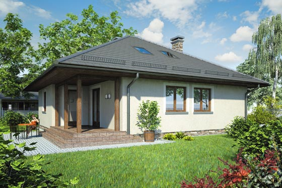 Projekt domu S-GL 572 Pelikan Bis