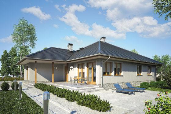 Projekt domu S-GL 575 Alabama