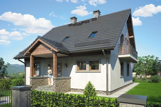 Projekt domu S-GL 576 Narcyz