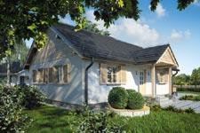 Projekt domu E-GL 58 Wilga