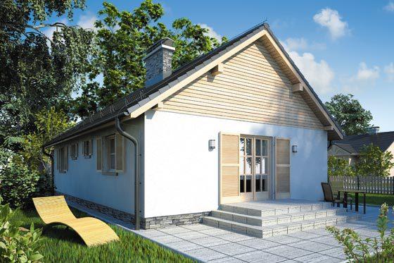 Projekt domu S-GL 58 Wilga