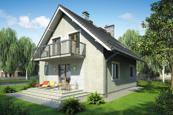 Projekt domu S-GL 583 Omega Bis