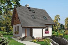 Projekt domu E-GL 584 Mikołajek Bis
