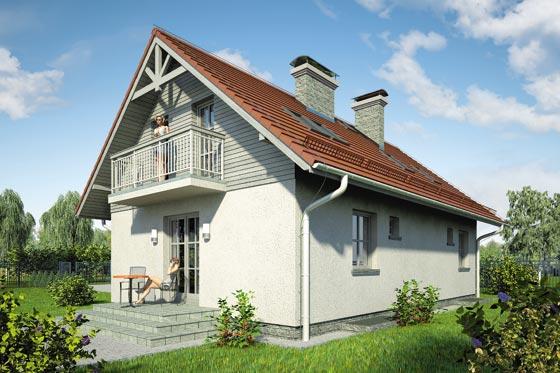 Projekt domu S-GL 589 Jutrzenka II