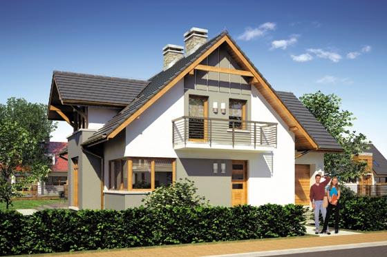 Projekt domu S-GL 600 Fortuna