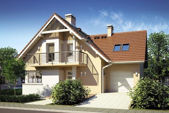 Projekt domu S-GL 608 Fortuna II