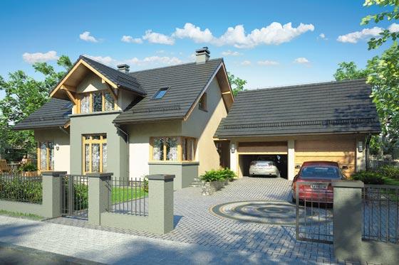 Projekt domu S-GL 614 Harmonia