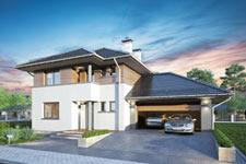 Projekt domu E-GL 618 Figaro