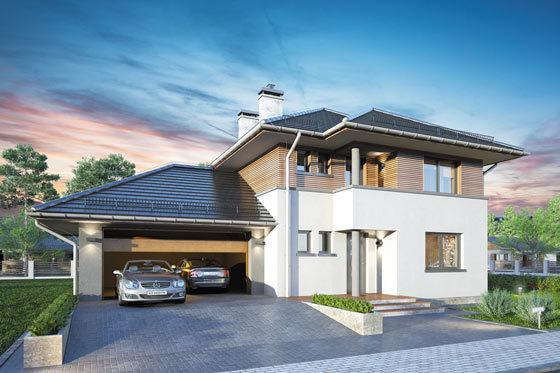 Projekt domu S-GL 618 Figaro