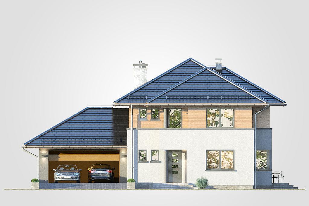 Elewacja domu S-GL 618 Figaro