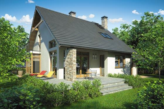Projekt domu S-GL 619 Karmel